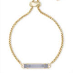 Kendra Scott Stan bracelet slate cat's eye, NWT